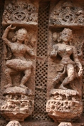 detail Konark sun temple