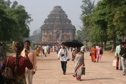 Konark Sun temple 1200 talet e.kr
