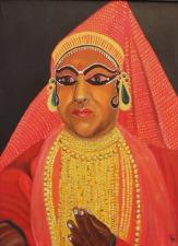 Katakali dancer